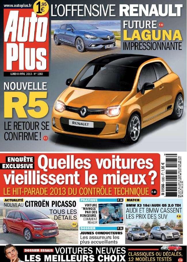 Auto Plus N°1283 du 08 au 14 Avril 2013