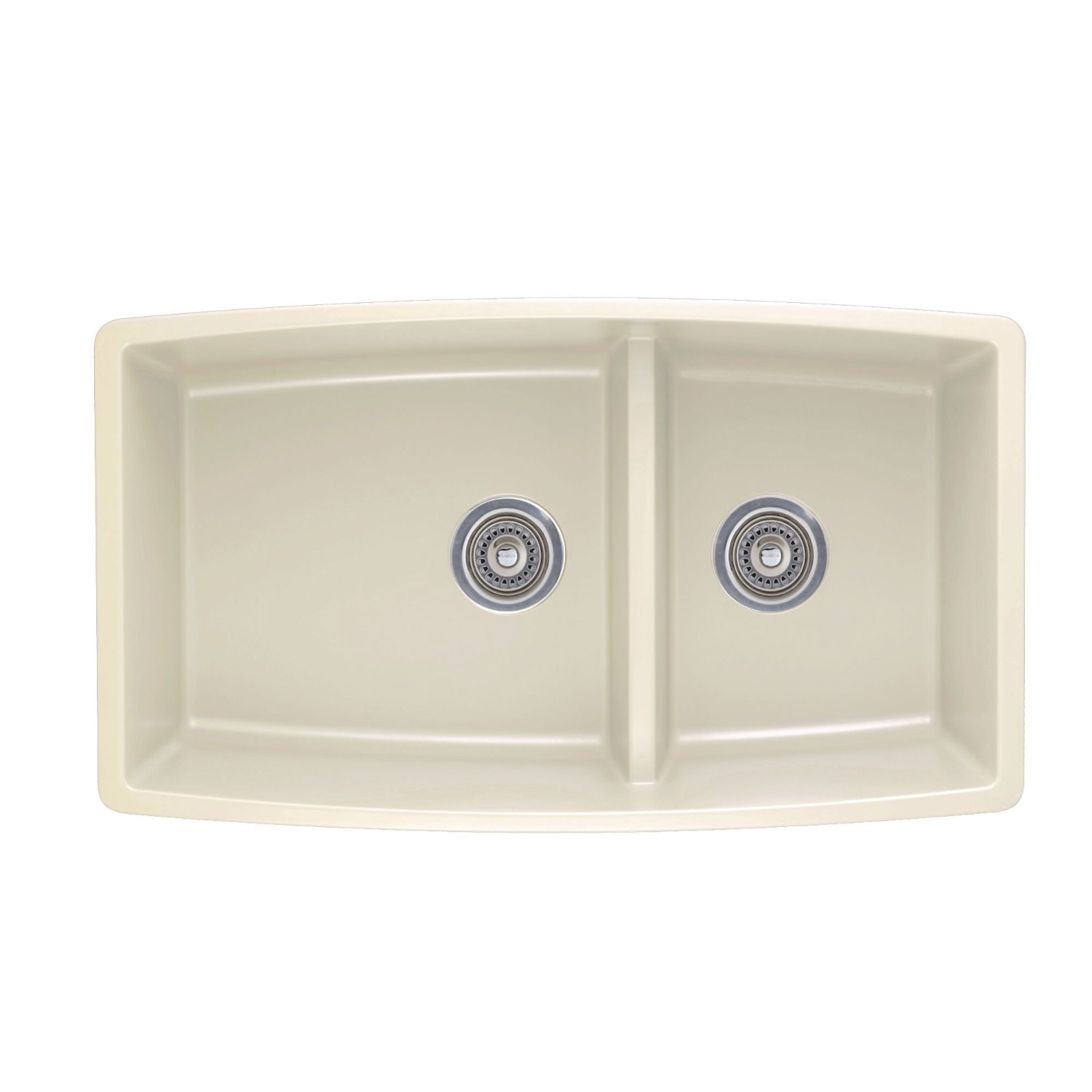 Details about Blanco 441311 Performa 1.75 Medium Bowl Sink, Biscuit