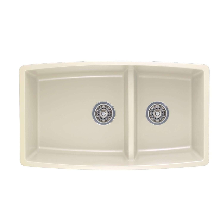 Blanco Performa Sink : Details about Blanco 441311 Performa 1.75 Medium Bowl Sink, Biscuit