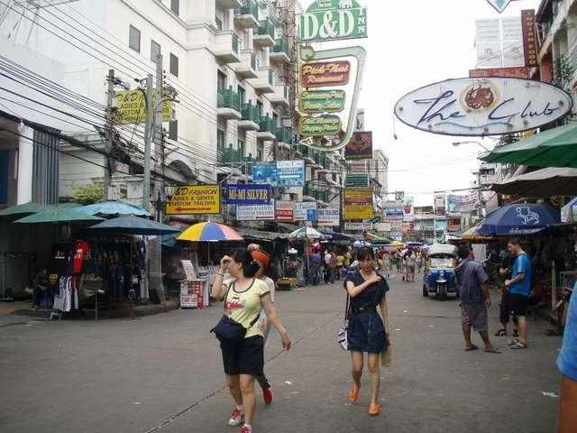 die legendäre Khaosan Road