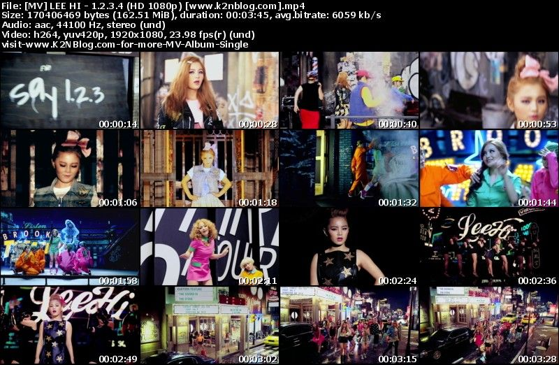 [MV] LEE HI - 1.2.3.4 (HD 1080p Youtube)