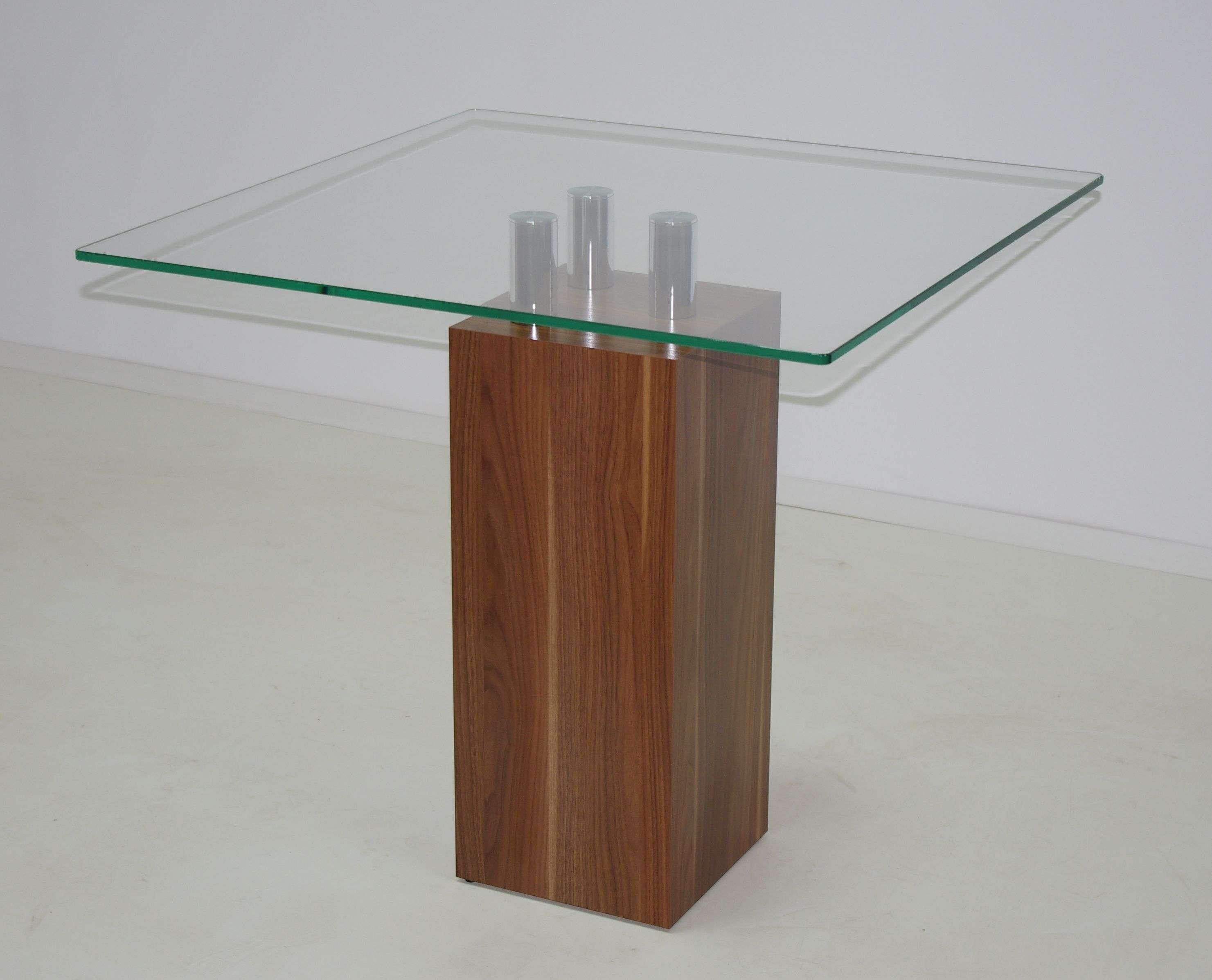 Esstisch 80x80 Tisch Esszimmer Säulentisch Küchentisch ...