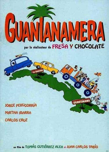 guantanamera1995poster Tomás Gutiérrez Alea   Guantanamera (1995)
