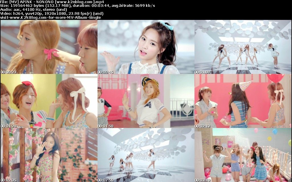 [MV] APINK   NONONO [HD 1080p Youtube]
