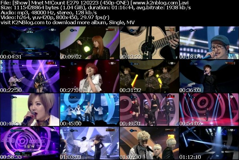 [Show] Mnet M!Countdown E279 120223