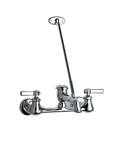 Chicago Faucets 540 Ld897swxfcp Wall Mount Service Sink